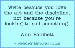 write for love